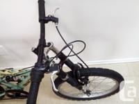 Used Kids bike with adjustable frame suspension and