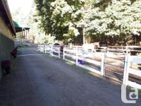 Full paddock board available in Metchosin at clean,