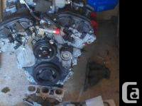09 chevey 3.6L engine 64000km this engine is redy to be