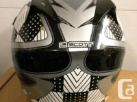Full Coverage Scott motorcyle/ off-road helmet . Large