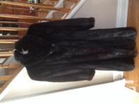 Size Little. Georgeos full length authentic Black Mink