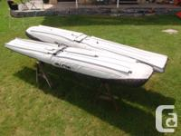 Full Lotus 1650 Floats. 15.5' Rudder set also available