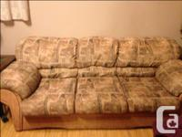 2 Couches (Consists of a 3 seater and a 2 seater ) as
