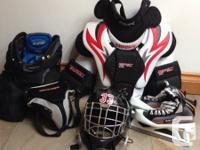 Jr Goalie Hockey Equipment List Bauer goalie skates --