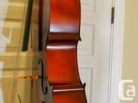 "The quality brand new ""Fujiyama"" cello has a warm hand"