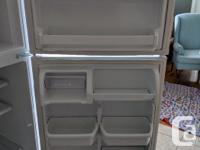 Full size fridge in good condition, only selling