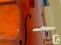The cello is perfect for beginners and advanced