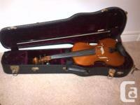 Full size 2008 Gliga Violin for sale. In excellent