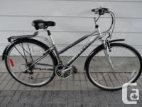 Selling a MINELLI 21 speed hybrid commuter in great