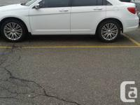 I am selling my 2012 Chrysler 200 that is fully loaded