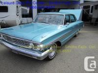 Make Ford Model Galaxie Year 1964 Colour Teal kms