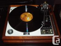 *Early 70s Garrard Zero 100 Turntable *Excellent