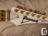 This Ibanez Jem Jr has been nearly completely redone