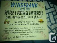 Windebank Elementary is having a bar night on Sept 20th