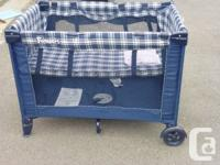 Funsport Baby Playpen like new condition. Has top