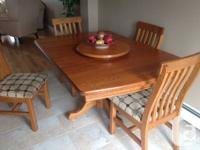 Various Furnature items for sale as per photos.  Dining