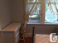 Pets No Smoking No Furnished bedroom (including all