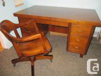 Excellent quality strong lumber 1940s Lender's Workdesk