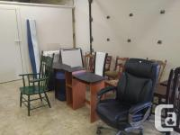 New & Used Furniture, exercise equipment and antiques.
