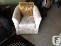 We are selling the listed furniture from an estate