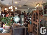 Armstrong Antiques is now located on Hwy 97 and Eagle