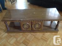 Up for Sale are: Coffee table - $40 or best offer