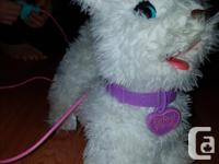 FurReal Friends white puppy. Reomote control works