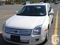 Ford Fusion, 2009, White, SEL, v6, 3.0 L, Power Moon