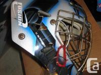 Fusion Sports Goalie Helmut Base blue GM 2000 7-7 3/8,
