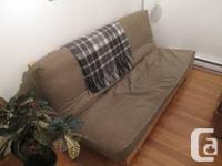 Moving Sale!  We're selling our futon couch and coffee