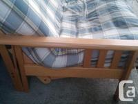 Futon couch - mattress and cover in relatively good