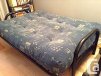 Futon for sale, Rarely used, very clean, used in a
