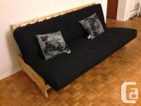 We are selling because of moving out a double futon