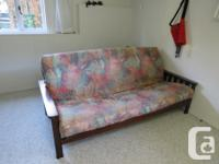 Hi! We are selling our futon which we used when we had