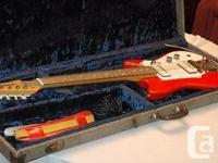 FUTURAMA II Vintage Electric GUITAR with original case