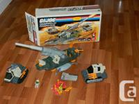 G.I. JOE THUNDERCLAP, LARGE 3 IN 1 PLAYTHING. IN THE