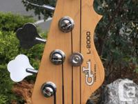 Just in on trade to Duncan Music is the G&L L2000 bass.