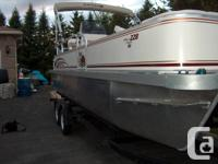 2009 22 foot G3 Suncatcher Pontoon Boat with 60 HP