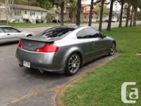 Infiniti g35 2005 coupe 6speeds handbook for sale. bad