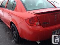 Make. Pontiac. Model. G5. Year. 2008. Colour. Red.