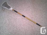 selling my lacrosse stick that ive had around for what for sale  British Columbia