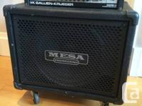 Gallien-Kreuger 400RB-III Head and Mesa/Boogie