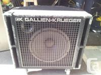 Hi all, Up for grabs is a lightly used Gallien-Krueger