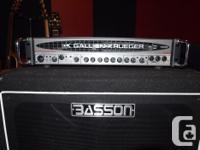 Gallien-Krueger 700RB-II Bass Head Description from