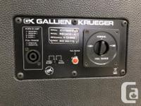 VIP PAWNBROKERS has a Gallien-Krueger NEO410 -
