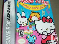 Game Boy Advance Game  - Hello Kitty - Happy Party