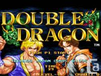 Double Dragon full sized up-right arcade game for sale.