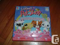 PICTURE 1: LITTLEST PET SHOP GAME - all parts included;