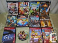 Available a Great deal of 11 PS2 games, some have