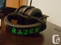 Razer Headphones $60 Logitech speakers $25 HDMI Cable